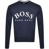 Product Image for BOSS Salbo Sweatshirt Navy
