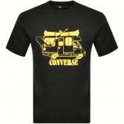 Product Image for Converse Vacation Mode Logo T Shirt Black