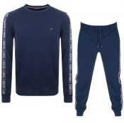 Product Image for Tommy Hilfiger Loungewear Tracksuit Navy