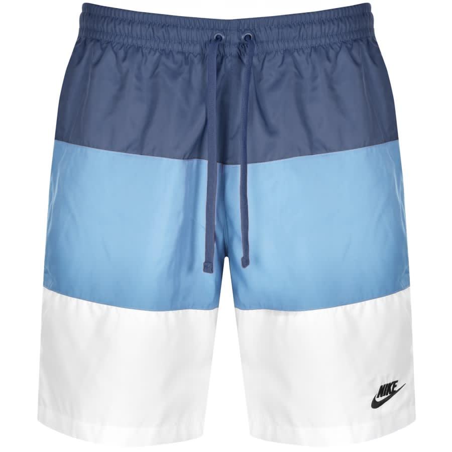 comerciante Aumentar Comenzar  Nike Novelty Logo Swim Shorts Blue | Mainline Menswear Sweden