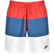 Product Image for Nike Novelty Logo Swim Shorts Red