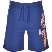 Product Image for Ralph Lauren Polo Logo Sweat Shorts Blue