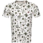 Product Image for Levis Original Crew Neck Logo T Shirt White