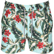 Product Image for Superdry Floral Beach Volley Swim Shorts Green