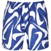 Product Image for Nike Flow Logo Swim Shorts Blue