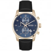 Product Image for HUGO BOSS Skymaster Watch Gold