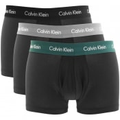 Product Image for Calvin Klein Underwear 3 Pack Trunks Black