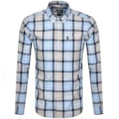 Product Image for Barbour Burnside Long Sleeved Shirt Blue