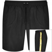Product Image for Barbour International Logo Swim Shorts Black