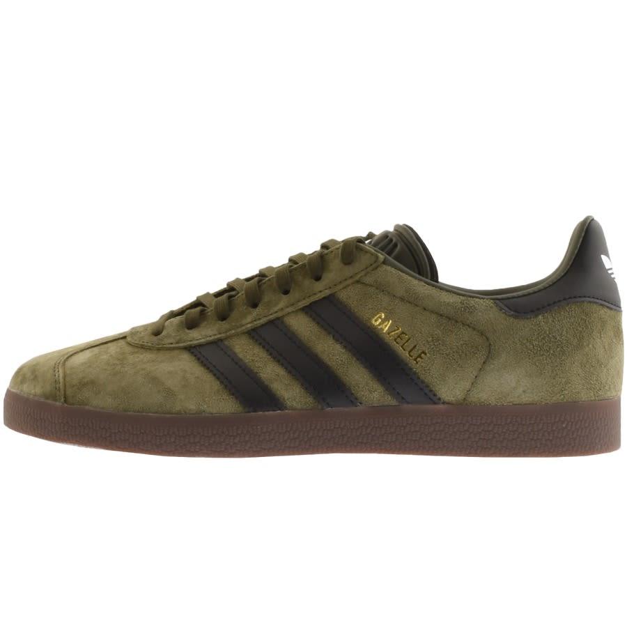 adidas Originals Gazelle Trainers Green
