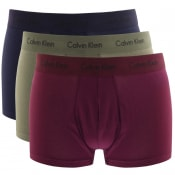 Product Image for Calvin Klein Underwear 3 Pack Trunks Navy