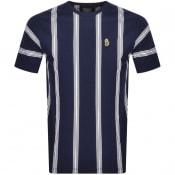 Product Image for Luke 1977 Stratford Striped T Shirt Navy