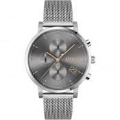 Product Image for BOSS 1513807 Integrity Watch Silver