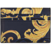 Product Image for Versace Jeans Couture Logo Card Holder Blue
