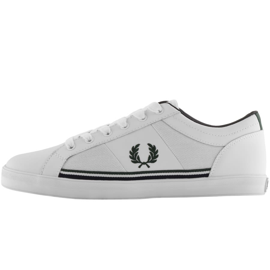 Fred Perry Baseline Mesh Leather