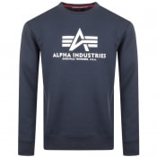 Product Image for Alpha Industries Basic Sweatshirt Navy