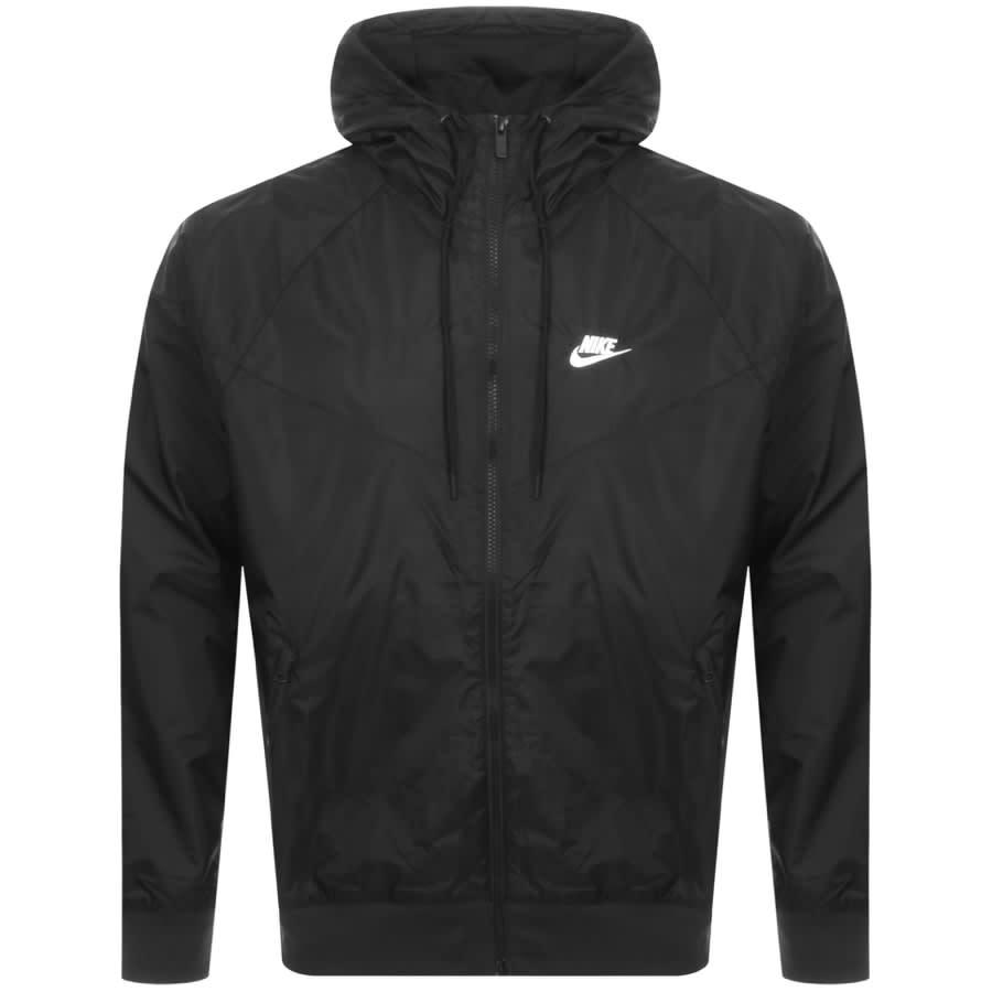 Nike Windrunner Jacket Black   Mainline