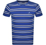 Product Image for Gant Original Multistripe T Shirt Blue