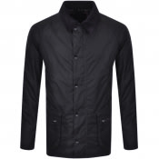 Product Image for Barbour Ashby Wax Jacket Navy