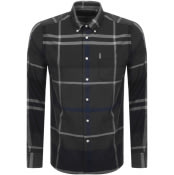 Product Image for Barbour Long Sleeved Dunnon Check Shirt Grey