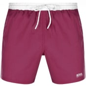 Product Image for BOSS Starfish Swim Shorts Purple