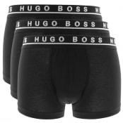 Product Image for BOSS Underwear Triple Pack Boxer Trunks Black