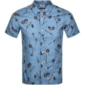 Product Image for PS By Paul Smith Casual Short Sleeved Shirt Blue