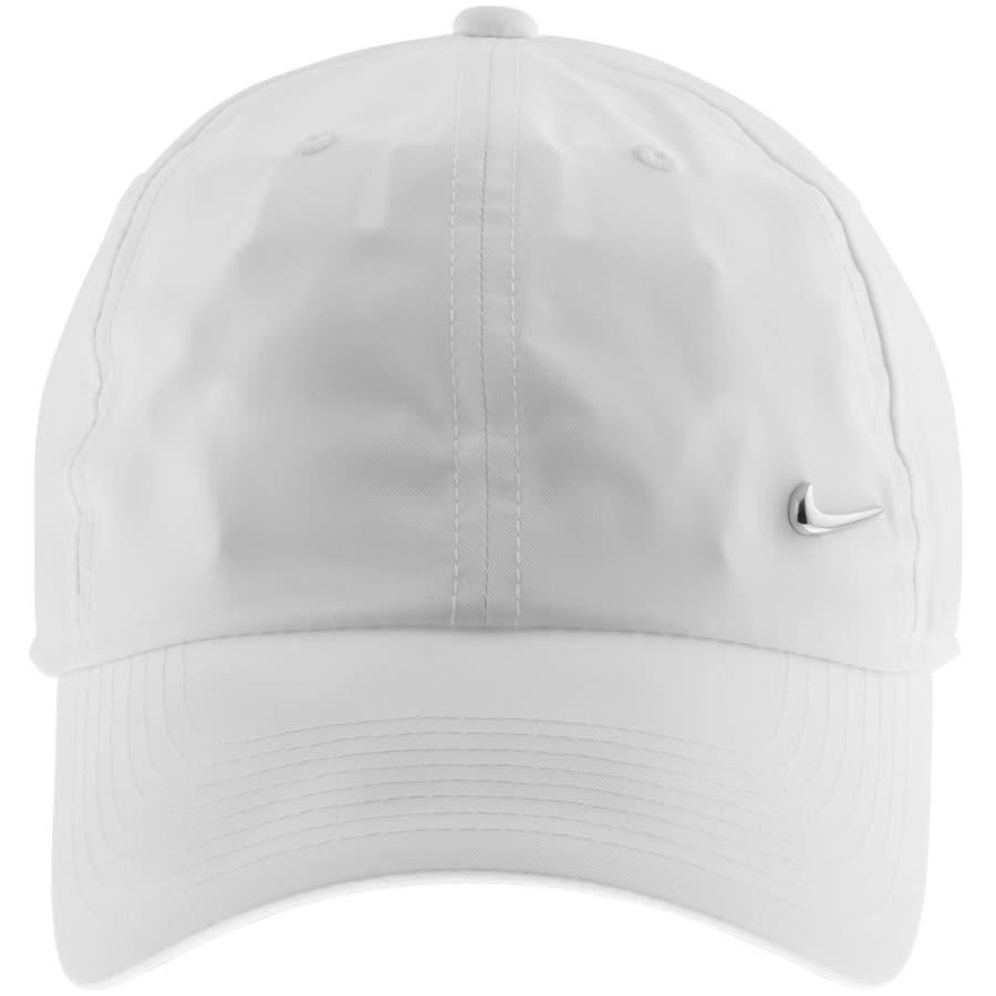 Nike Metal Swoosh Cap White   Mainline
