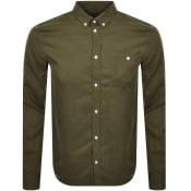 Product Image for Les Deux Laurent Tencel Shirt Green