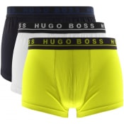 Product Image for BOSS Underwear Triple Pack Boxer Trunks Navy