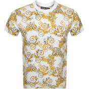 Product Image for Versace Jeans Couture Logo T Shirt White