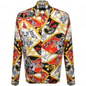 Product Image for Versace Jeans Couture Long Sleeve Shirt Red