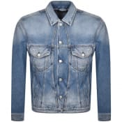 Product Image for Diesel D Bristy Denim Jacket Blue