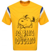 Product Image for Levis X Snoopy Football T Shirt Yellow