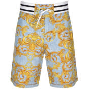 Product Image for Versace Jeans Couture Print Shorts Blue
