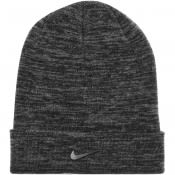 Product Image for Nike Cuffed Swoosh Beanie Hat Grey