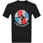 Product Image for Converse Star Chevron Logo T Shirt Black
