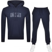 Product Image for Emporio Armani Lightweight Lounge Tracksuit Navy