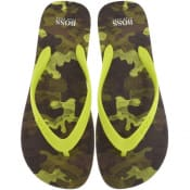 Product Image for BOSS Pacific Flip Flops Green