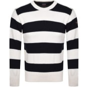 Product Image for Paul And Shark Crew Neck Knit Jumper Cream