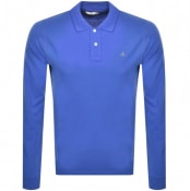 Product Image for Vivienne Westwood Long Sleeved Polo T Shirt Blue