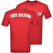 Product Image for True Religion Logo T Shirt Red