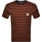Product Image for Carhartt Stripe Pocket T Shirt Black