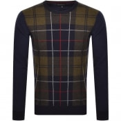 Product Image for Barbour Coldwater Crew Neck Knit Jumper Navy