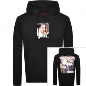 Product Image for HUGO Dendigo Hoodie Black