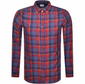 Product Image for PS By Paul Smith Long Sleeved Check Shirt Red