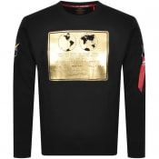 Product Image for Alpha Industries Lunar Plaque Sweatshirt Black