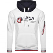 Product Image for Alpha Industries Nasa Retro Hoodie White