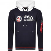 Product Image for Alpha Industries Nasa Retro Hoodie Navy