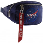 Product Image for Alpha Industries NASA Waist Bag Rep Blue